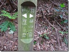 34 基山へ1kmの道標