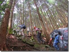 23 権現山への急登