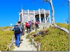 2-24日出ヶ岳山頂の展望台