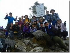 1-19八経ヶ岳山頂