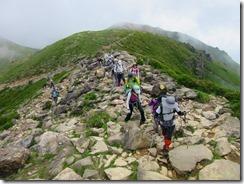 20久住山への登り (2)