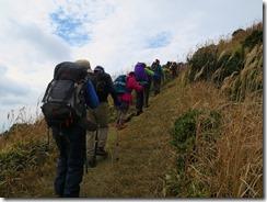 1-32俵山山頂近くに上がってきました