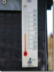 1-12山頂気温3度を示していました