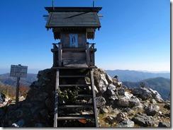 12国見岳山頂の祠