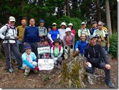 46本日6座目ウードヤ山にて登頂写真