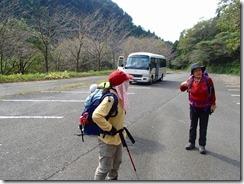 01登山口(猿ケ城キャンプ場)