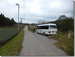 35岩田運転手さんが途中まで車で迎えてくれました。感謝です。