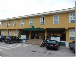 01ベネチア、メストレのホテル