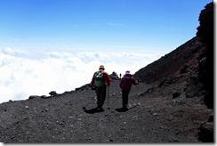 3-07山頂より下山開始 (2)