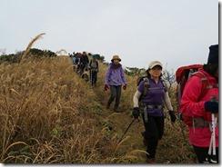 2-08ススキの登山道