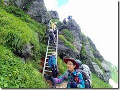 34急な梯子を下ると次は。。。