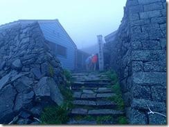 1 今日の天気は、霧雨とガス