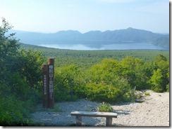 05支笏湖展望所、向こうは恵庭岳