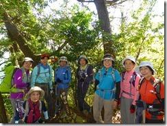 10宇曽山の登頂写真
