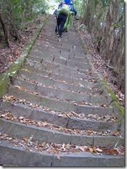 17金立神社上宮への階段