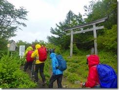 3-03登山開始