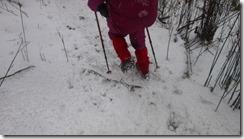 18気持ち良いアイゼンでの雪歩き