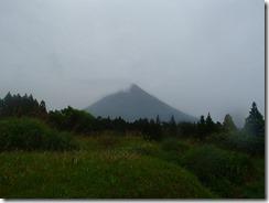 29農道から開聞岳