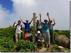 3-06荒島岳山頂