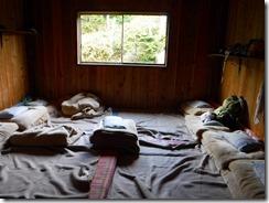 1-07南竜山荘 部屋