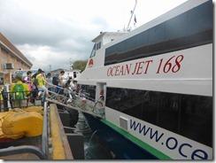 01高速船乗船