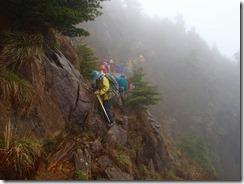 17岩稜帯の通過
