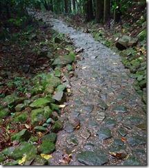 23ザビエルの歩いた道に残る石畳