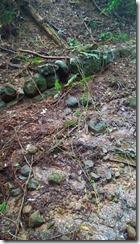 7 籠立峠の石組み