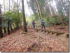 15 櫛羅の滝コースへ下山