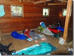 1-24九折小屋に宿泊、空いていてよかったです