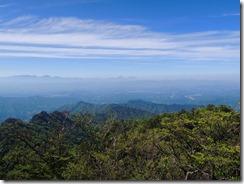 1-20傾山から九重、由布岳方面
