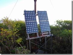 3-02 9合目小屋の太陽光発電