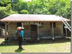 1-07先に小屋を確保、荷物も軽くします
