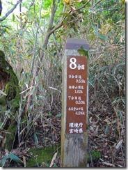 3-03北谷登山口への道標