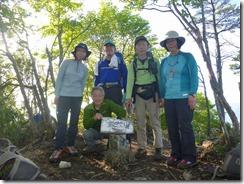2-06笠松山での登頂写真