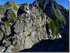 2-10大岩のトラバース