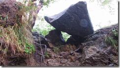 4-04急坂の岩場を登っていきます