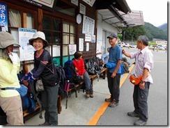 1-01 1日目、仙流荘から林道バス乗り継いで広河原へ向かいます