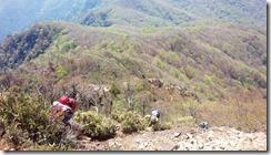 15山頂直下の登り (2)