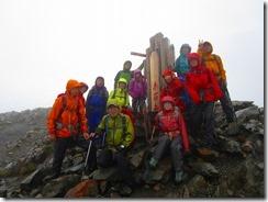4-03赤石岳3120m山頂