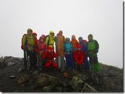 4-02小赤石岳3081m 山頂