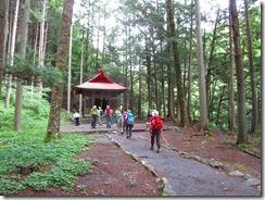 5-03井川神社へ立ち寄り