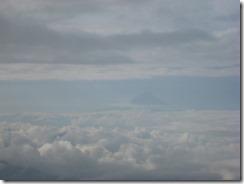 51横岳~赤岳途中から富士山