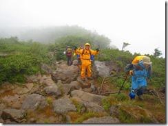 22天狗岳登り12