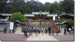 03諏訪神社に参拝