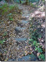 25 登山道は土嚢で整備されています。関係者に感謝です