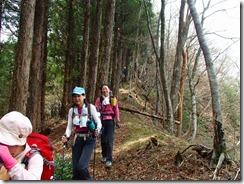 1-09雁俣山から京丈山への縦走路