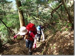 1-05雁俣山直下の急登