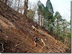 1-04登山道崩落?
