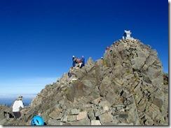 3-09奥穂高岳山頂